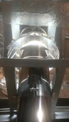 Conduit concentrique 80/125mm dans les combles gironde